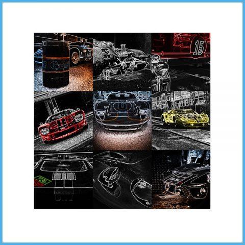 Cadre Art GT40