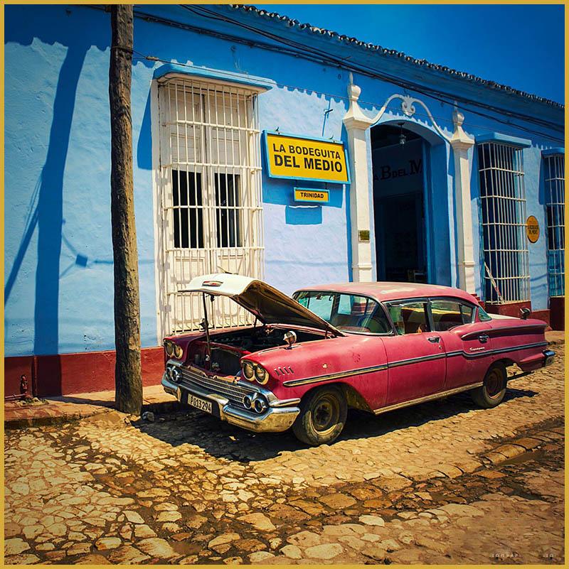 Cadre Photo Cuba