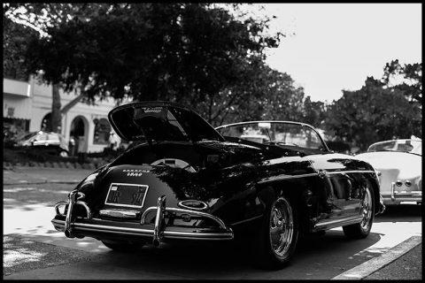 Cadre Porsche 356