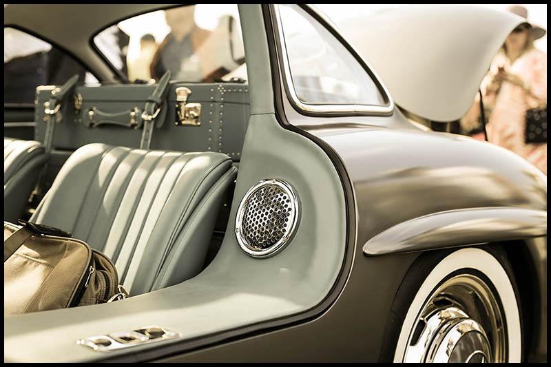 Cadre Voiture Mercedes 300 SL