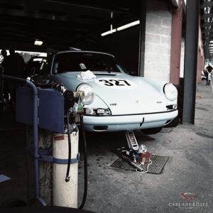 Classic 911 Blue Porsche