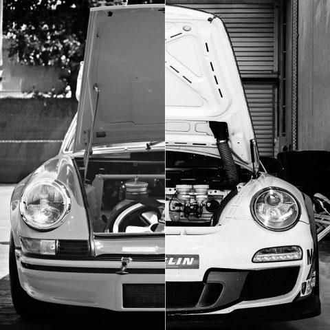 Creation Porsche Capot