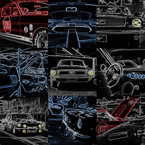 Déco Art Création Ford Mustang