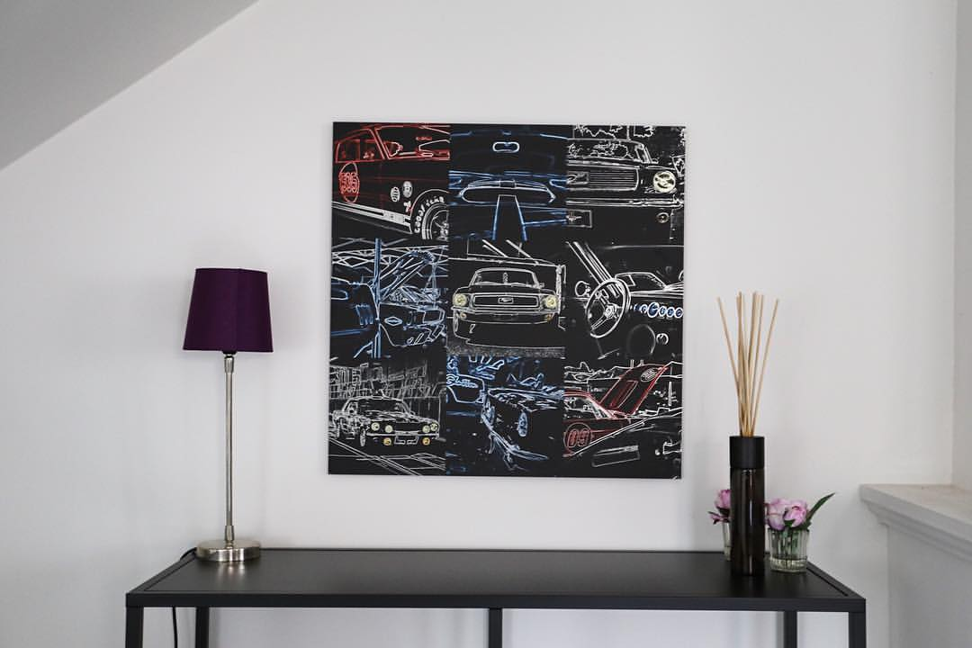 Décoration Art Création Ford Mustang