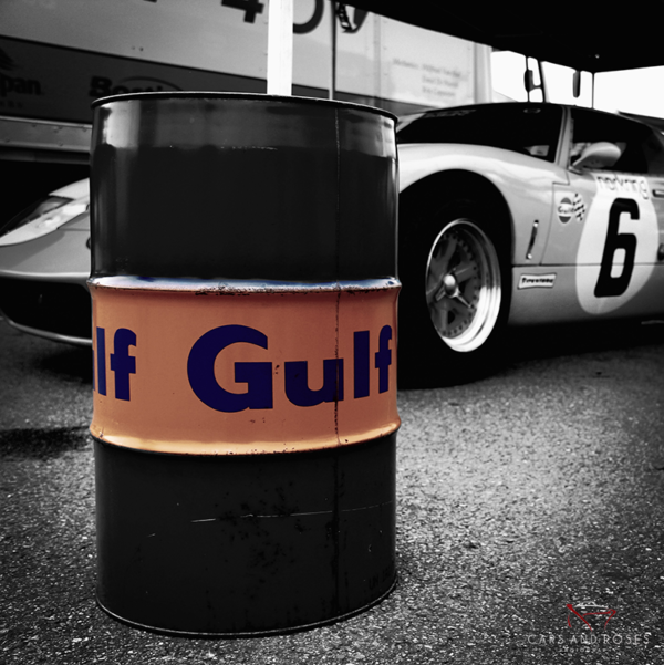 Ford GT40 with Gulf Can