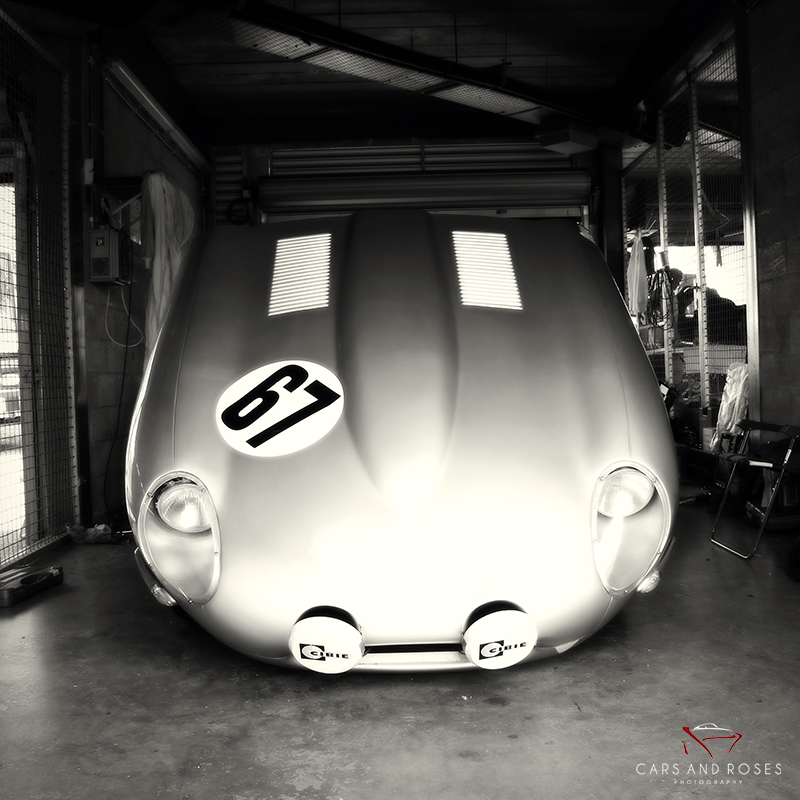 Jaguar Type E Hood