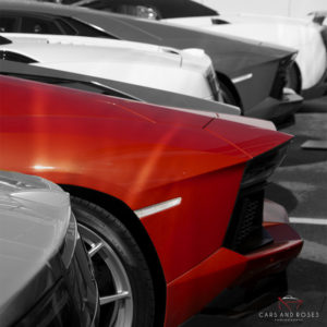 Lamborghini Aventador Back