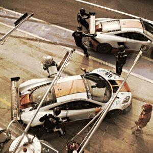 McLaren Mp4 Gulf moving