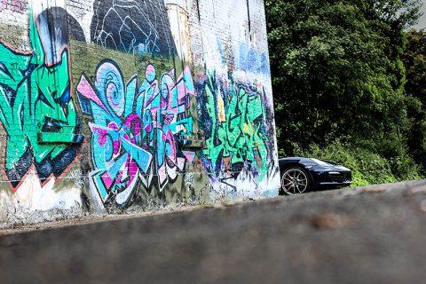 Photo Murale Déco Intérieur Voiture Porsche