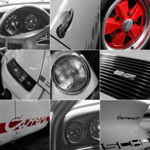 Photographie Art Porsche Carrera RS 2.7