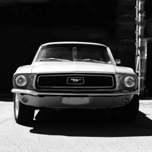 Photographie Murale Voiture Mustang
