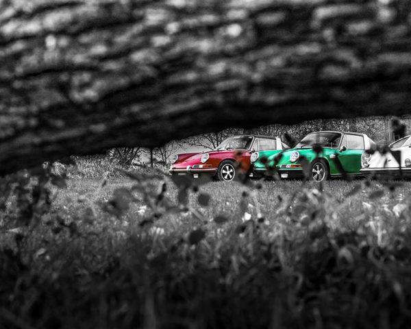 Photographie déco Porsche Targa