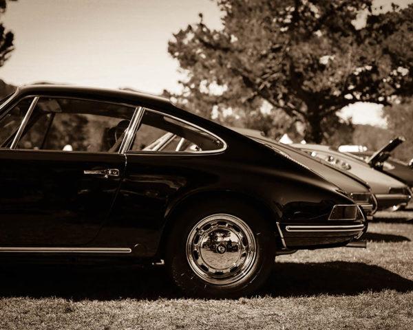 Photographie murale voiture Porsche