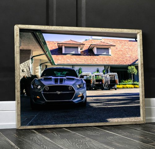 Photographies Murale Ford Mustang