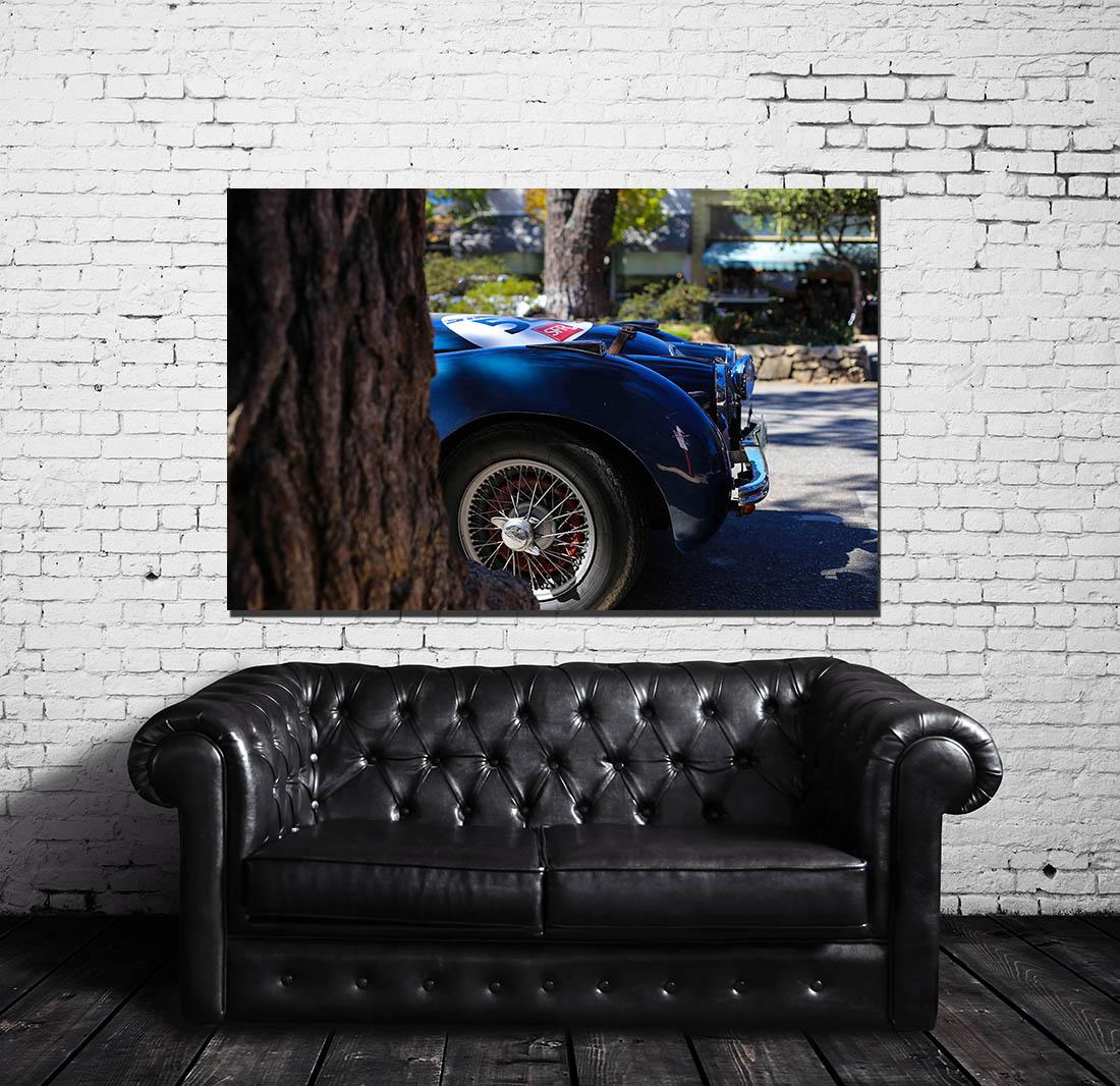 Photographies murales Jaguar XK