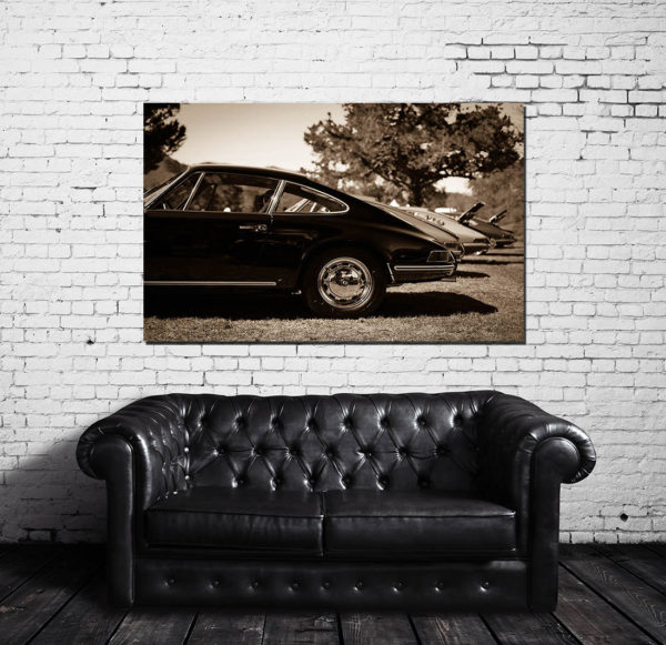 Photographies murales voitures Porsche