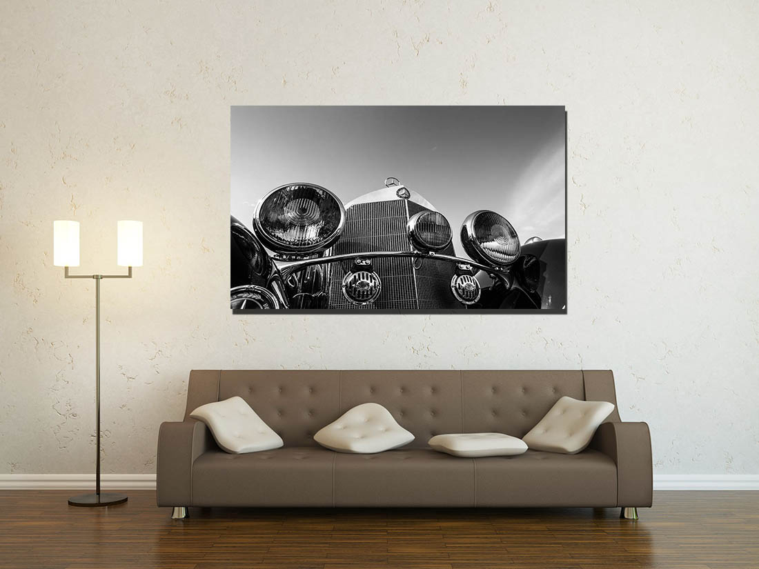 Photos Murales Mercedes 540K