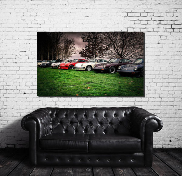 Photos Murales Moderne Porsche