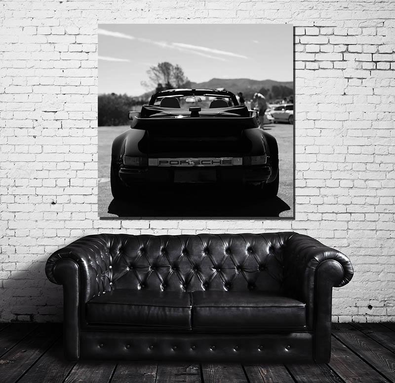 Photos murale deco Porsche 964