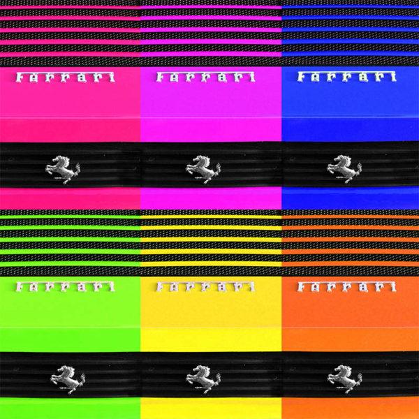 Pop Art Ferrari