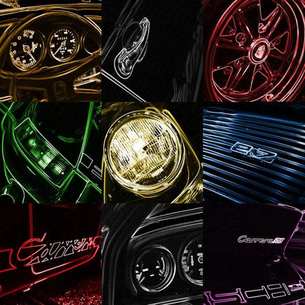 Pop Art Porsche Carrera RS