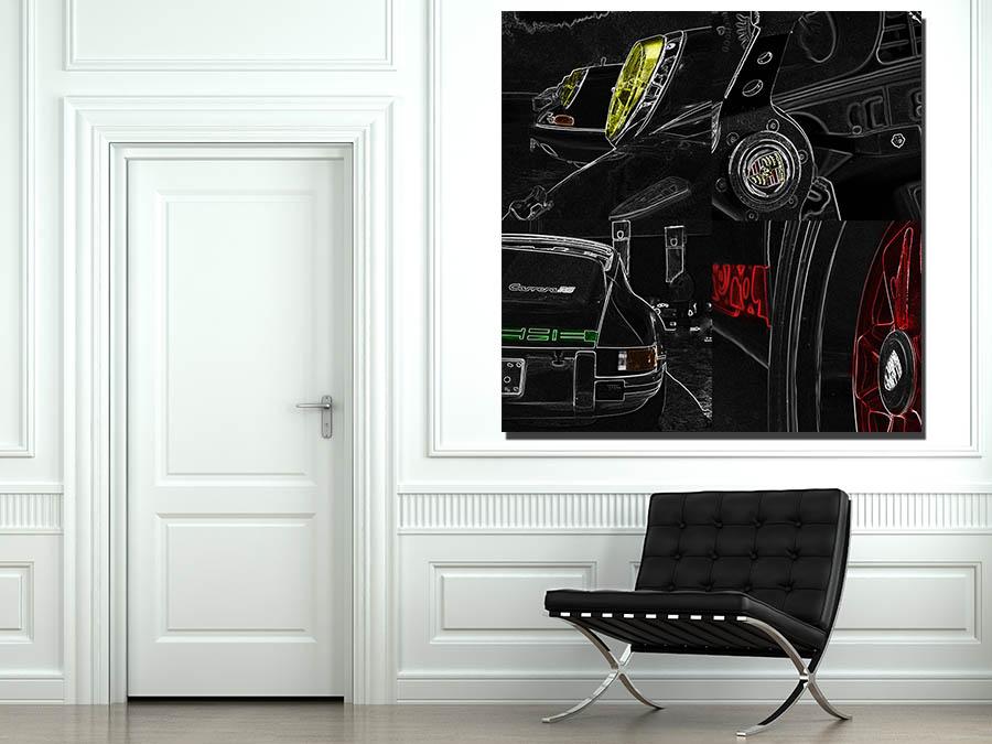 Pop Art Voitures Porsche 911