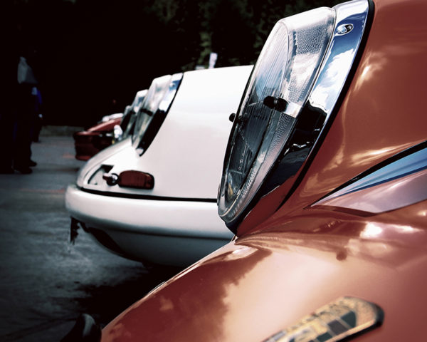 Porsche 901 Gulf Headlights Colorful