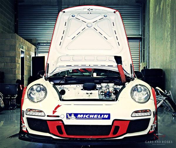 Porsche 911 GT3 Hood Open