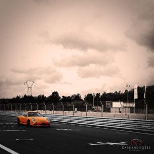 Porsche 911 GT3 RS - Orange Sky
