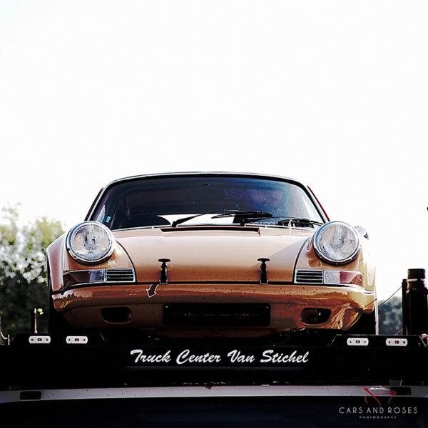 Porsche 912 on the Truck