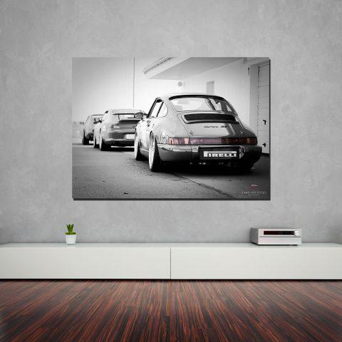 Tabeau Photo Toile Porsche Ancêtre