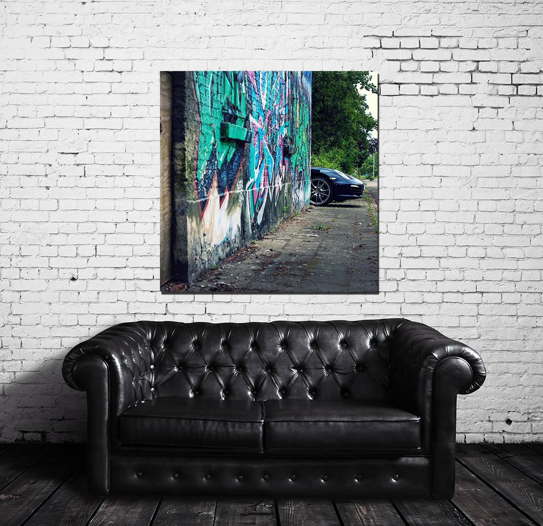 tableau porsche 911 cars and roses. Black Bedroom Furniture Sets. Home Design Ideas