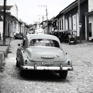 Tableau Automobile - Les rues de Cuba
