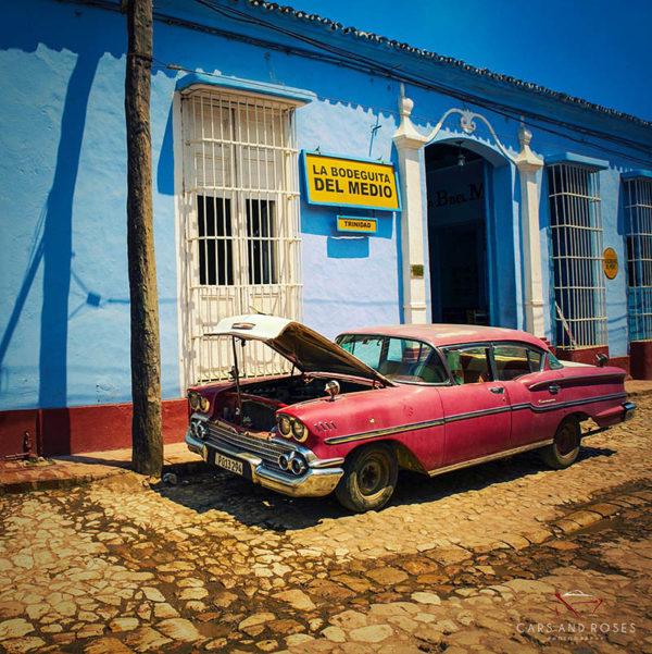 Tableau Cuba Voiture