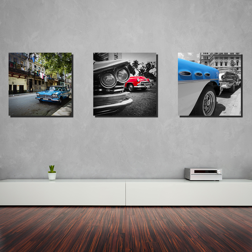 Tableau D 233 Co Voiture Cuba Cars And Roses