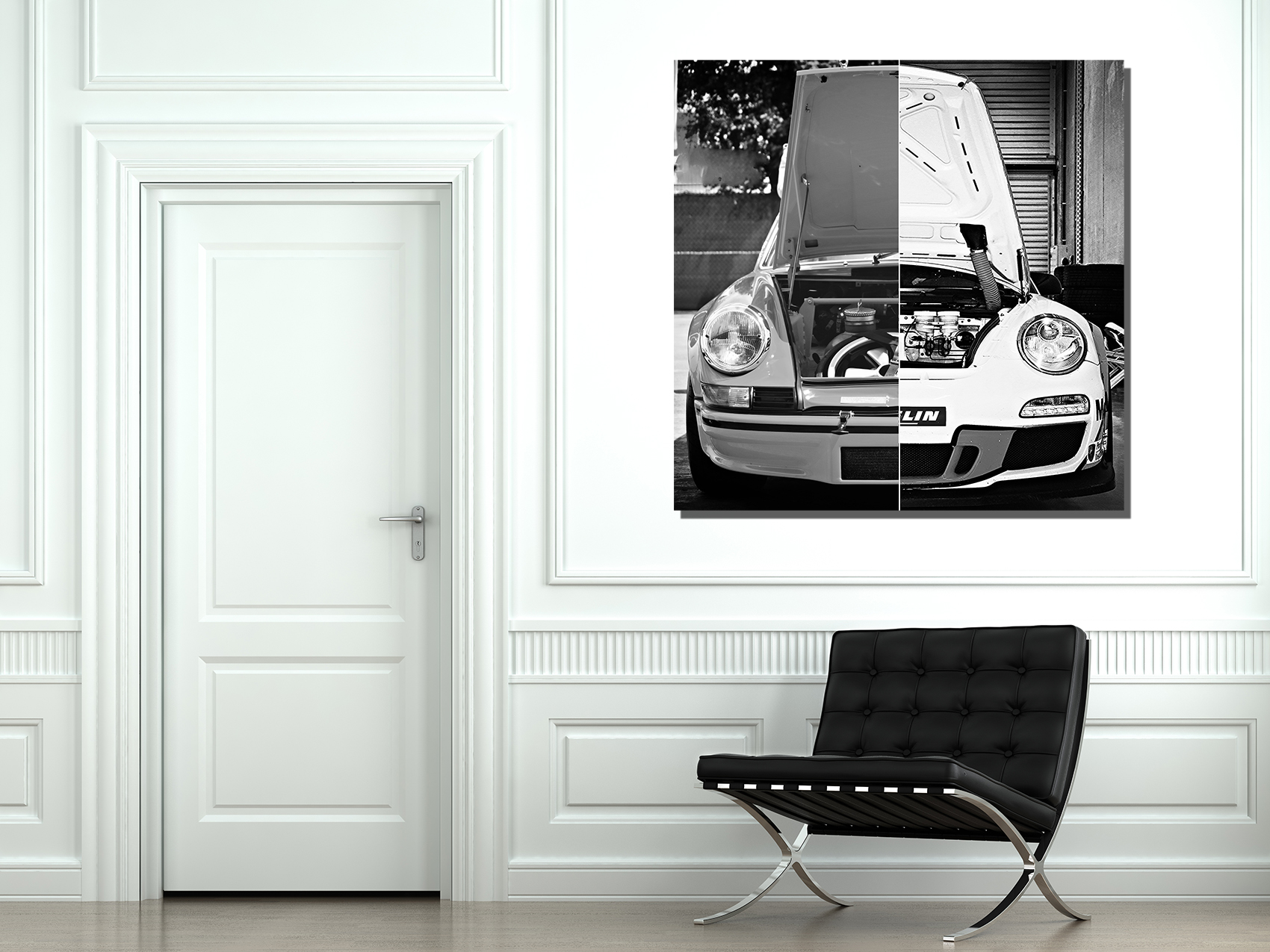 Tableau Deco Porsche