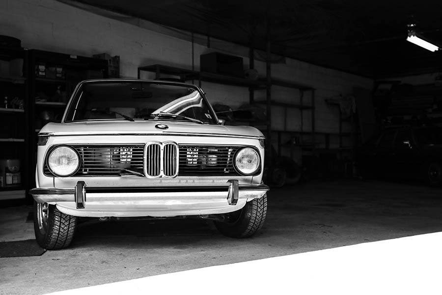 Tableau Mural BMW 2002 Touring
