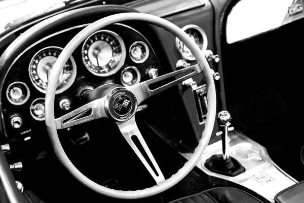 Tableau Photo Corvette Stingray