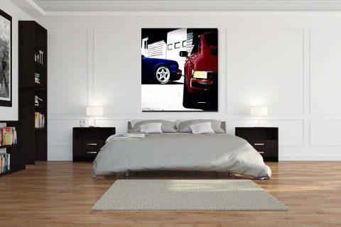 Tableau Photo Voiture Porsche
