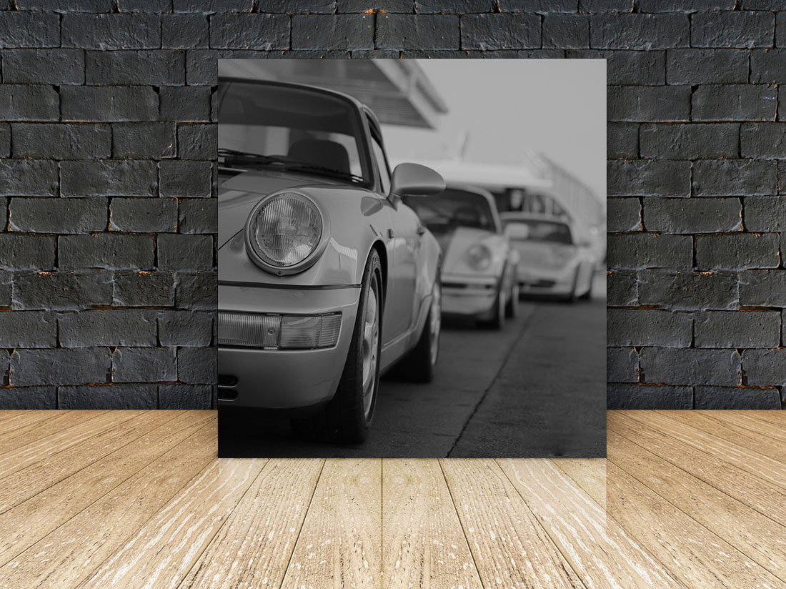 Tableau Porsche 911 Cars And Roses