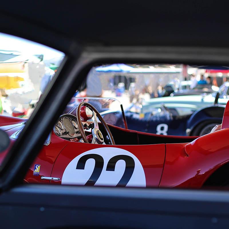 Tableau Toile Photo Ferrari 412 S