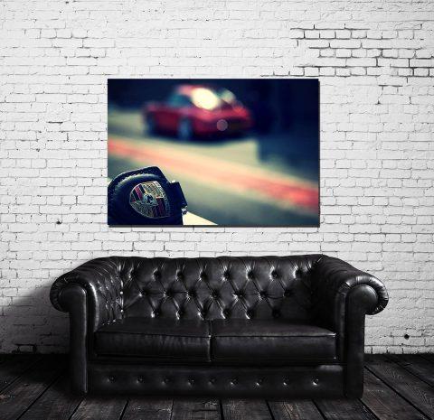 Tableau Voiture Décoration Porsche