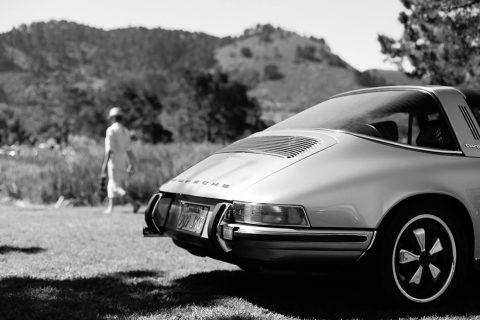 Tableau Voiture Porsche Targa