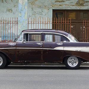Tableau de Voiture Cuba - Cars and Roses