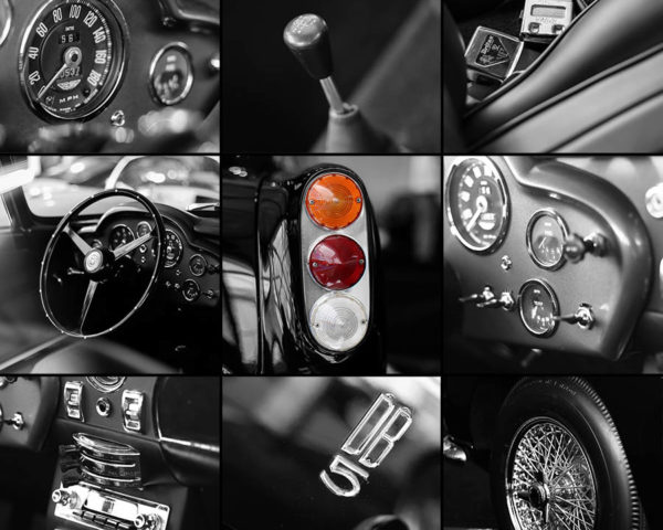 Tableaux Art Déco Aston Martin