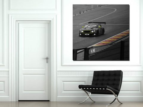 Tableaux Art Voitures de Courses Bentley