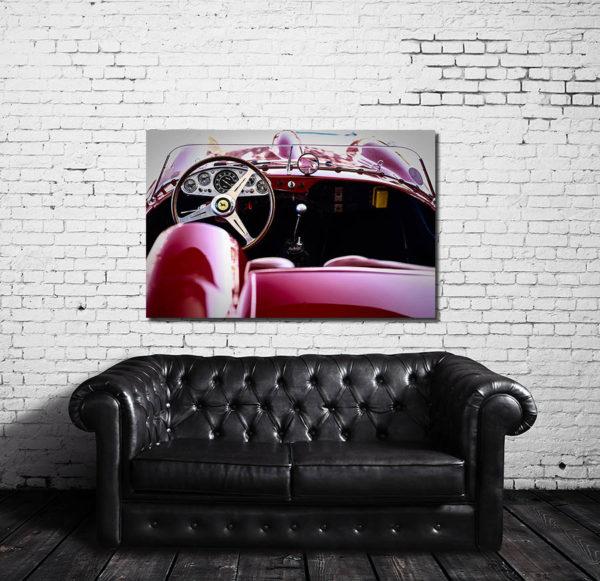 Tableaux Déco Ferrari 412s