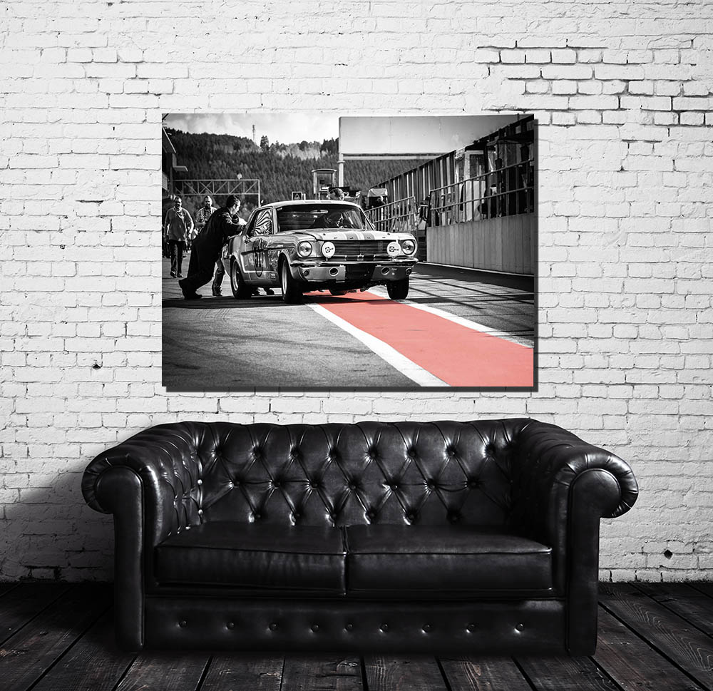 Tableaux Décoration Murale Ford Mustang