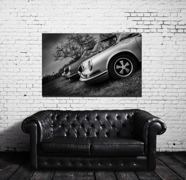 Tableaux Moderne Design Vieille Porsche