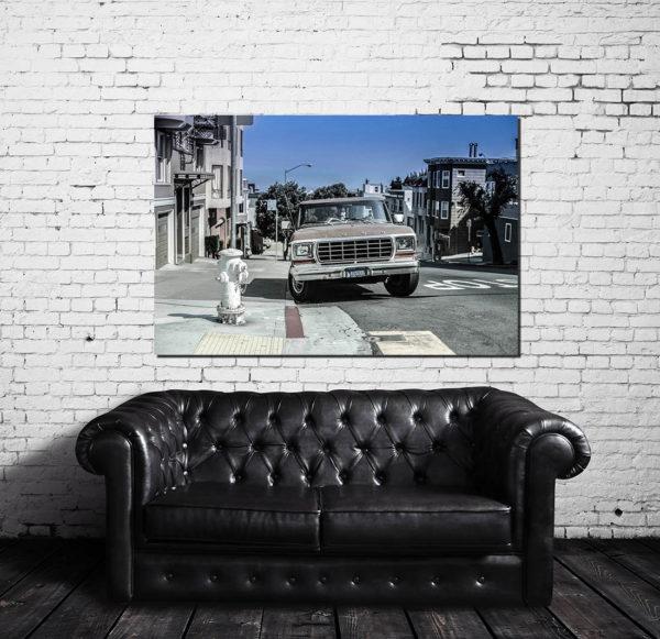 Tableaux Photos Voiture vieux Ford